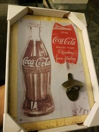 COKE WALL ART WITH OLD FASHION BOTTLE OPENER (NEW) Calgary, T3B 1J8