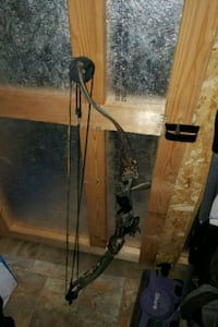 brown and black compound bow 100 obo Hartstown, 16131