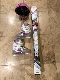 Skis and ski gear