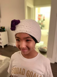 Cute girls slouchy hat with flower  North Charleston, 29456