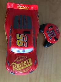 Lightning McQueen Toy Car with Controller