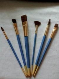 Set of 6 Artist's Loft Natural Hair Paint Brushes Greenville, 29607