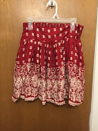 Red and nude skirt with pockets Palm Bay, 32905