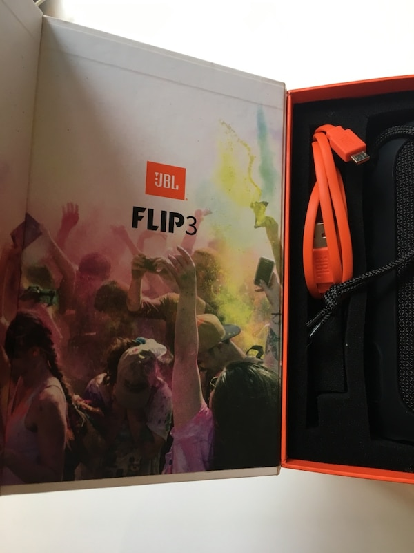 dcb8a68a8 Used New JBL flip3 open box never used for sale in Фуллертон - letgo