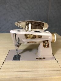 Singer 500 Rocketeer Sewing Machine with table