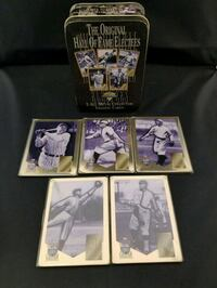 Original Hall of Fame Electees Collectable Tin Edmonton, T5M 3R2