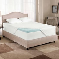 Almost NEW Twin Foam Gel Mattress Pad/Cover $125.00 Mississauga