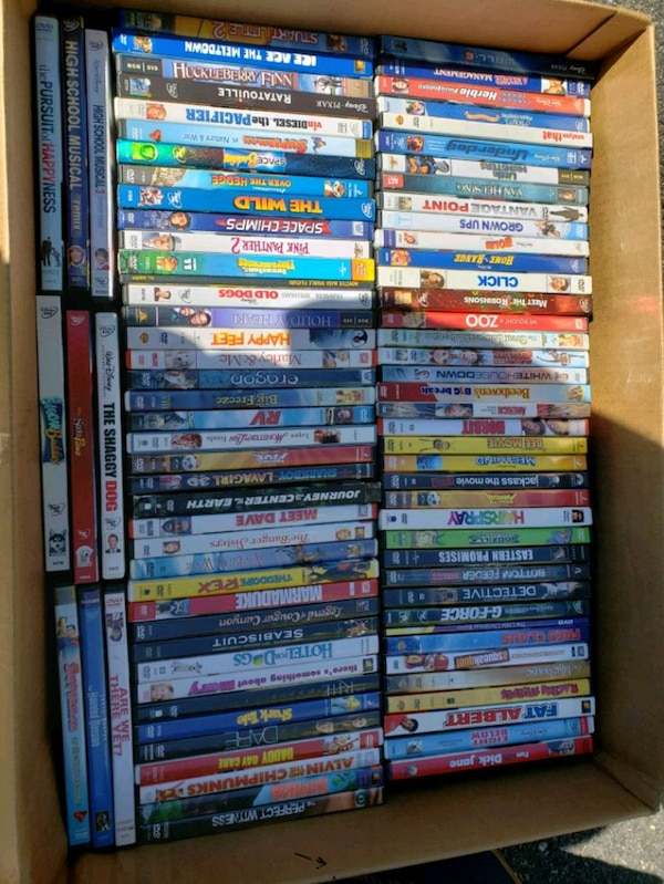 DVD and vhs