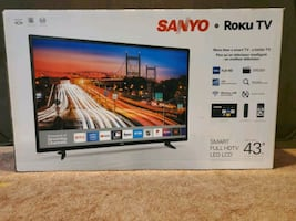 Sanyo Roku Smart TV 43""
