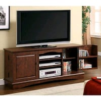 Media TV stand holds up to 65in cherry new  Houston, 77084