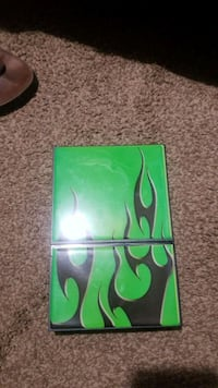 green and black abstract painting Indianapolis, 46204