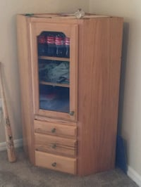brown wooden cabinet with mirror Cape Coral, 33990