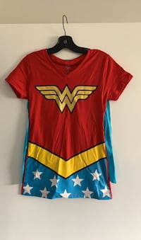 Dc Wonder Woman shirt with cape Edmonton, T5X 1X6