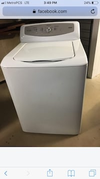 white top-load clothes washer Alexandria, 22314