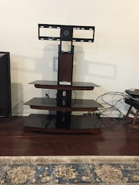 brown wooden TV stand with mount Bakersfield, 93311