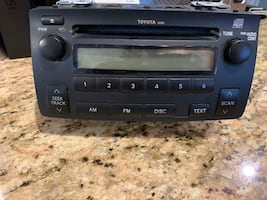 Toyota corolla 2007 car radio