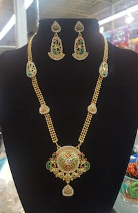 Gold Plated Indian Jewellery Set
