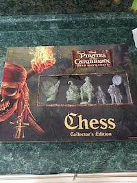 disney pirates of the caribbean dead man's chest chess collector's edition Richland