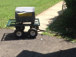 Portable Generator with cart