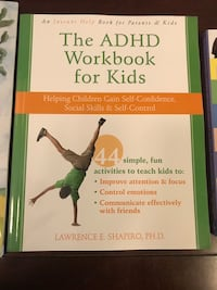 New - The adhd workbook for kids Edmonton, T5X 0E8