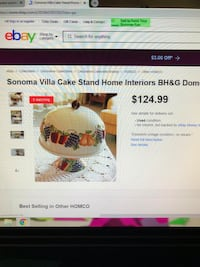 Sana Villa cake stand from Better Homes and Gardens/ VINTAGE