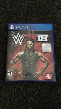 WWE 18 PS4 game Milltown, 08850