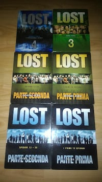 Dvd lost 1-2-3-4 serie complete