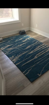 West Elm Rug - Teal - Like New Washington, 20009