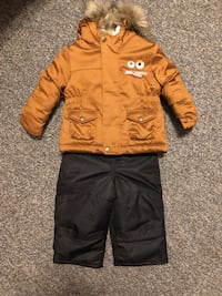 Baby Snow Suit Combo Jacket and Snow Suit size 12 months Carroll Valley, 17320