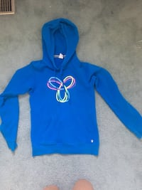 Blue TNA pullover hoodie 553 km