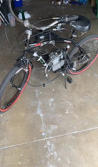Bike with 66cc motor