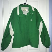 John Deere green/white spring coat/jacket, XL Arlington, 22202