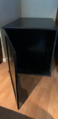 large dog crate cabinet