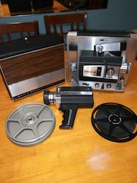 Bell & Howell Autoload projector & hand recorder