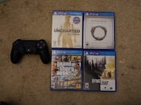 6 ps4 games and PS4 controller Fairfax, 22033
