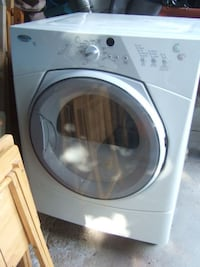 Whirlpool Duet Electric Dryer with storage,3668