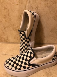 Vans Checkered Black (negotiable price)