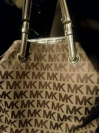brown Michael Kors tote bag Marion County