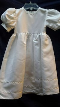 White Dress with Gold Trim Concord, 03303