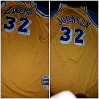 orange and blue Los Angeles Lakers 24 jersey Baltimore, 21216
