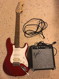Electric Guitar with amp & cord