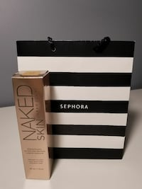 New urban decay naked skin foundation