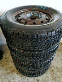 Rims and winter tires 235/70/16 Toronto, M6L 1A4