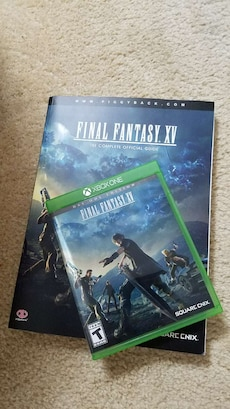Final Fantasy 15 with complete guide