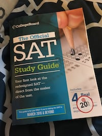 College board the official sat study guide book Somerset, 02726