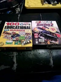 2 assorted pc game