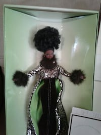 female doll in green and silver-colored dress in box Berrien Springs, 49103