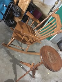 Recliner chair and stool  Edmonton, T6K 3C5
