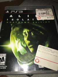 Alien Isolation PS3 Chicago, 60626