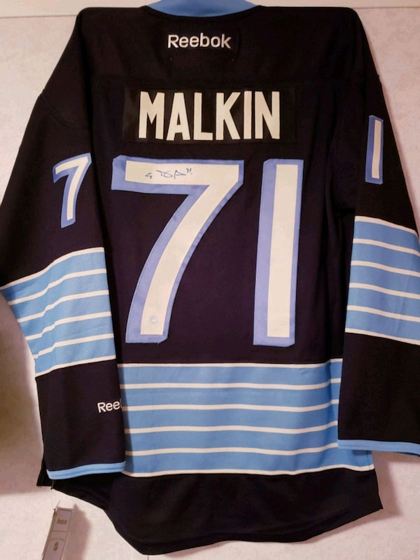 Used Signed Pittsburgh Penguins Evgeni Malkin Jersey for sale in Edmonton -  letgo 58c5e6def